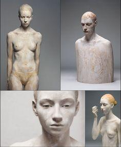 sculptures by Bruno Walpoth
