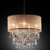 Found it at Wayfair Supply - Rosie Crystal 6 Light Ceiling Lamp