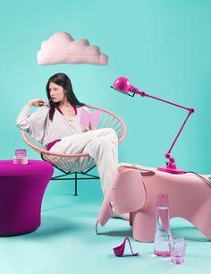 Floor Knaapen created Big Bright Beautiful as an editorial for Dutch Design magazine EH