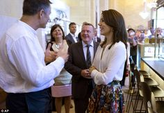 Non-stop: The visit to the food hall was one of Princess Mary's final…
