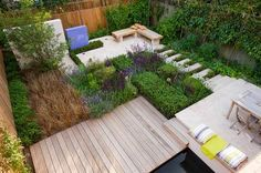 Deck and garden combined
