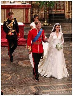 Retrô - Casamento de famosos 2011. Will e Kate