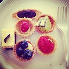 Cute fruit tarts