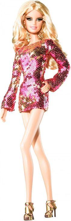 Heidi Klum Barbie doll