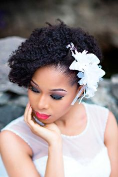 Astounding Wedding Hairstyles Black Women And Hairstyles On Pinterest Hairstyle Inspiration Daily Dogsangcom