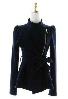 $39.99 [grzxy6600534]European Style Elegant Lapel Bowknot Blazer Coat | cheershop - Clothing on ArtFire