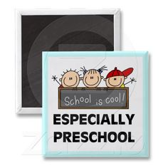 Preschool School is Cool Tshirts and Gifts Refrigerator Magnets