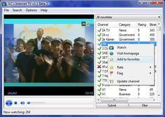JLC's Internet TV, software gratuito para ver online miles de canales de television