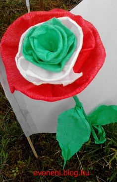 Republic Day, Flower Crafts, Independence Day, Arts And Crafts, March, Spring, Projects, Diy, Hungary
