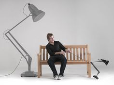 Giant1227 Anglepoise In Anthracite Grey