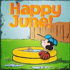 Happy June june month hello june june quotes hello june quotes welcome june Snoopy Love, Snoopy And Woodstock, Peanuts Cartoon, Peanuts Snoopy, Welcome June Images, June Pictures, Happy June, Lucy Van Pelt, Hello June