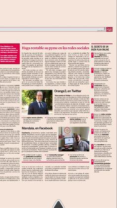 Publicación en Expansion 2014 #twitter #orange3