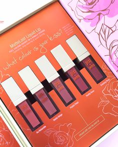 Pixi beauty mattelast liquid lipstick