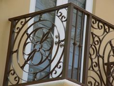Get a Catchy Balcony Using These 60 Best Railings Designs ... Wrought-Iron-Balcony-Railing └▶ └▶ http://www.pouted.com/?p=24155