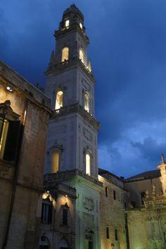 Lecce - Italy -il campanile, Lecce, Province of Lecce, Puglia region Italy