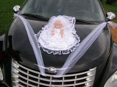 svatební dekorace na auto - Hledat Googlem