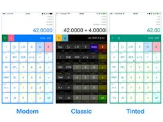New version 4.0 of My RpnCalc for iOS with the classic UI. See http://calc.lsrodier.net and https://itunes.apple.com/us/app/my-rpn-calc/id807032892?l=en for details.