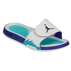 eb795b92df8e Jordan Hydro 5 Retro – Mens White Black New Emerald Grape Ice