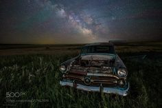"""Ranch Wagon  From the Stardust and Rust series... """"Ranch Wagon"""" What is left of a 1952 Ford Ranch Wagon rusts under the light of a billion stars. HomeGroenPhotography.com  Camera: Canon EOS 6D Lens: EF16-35mm f/2.8 L III USM  Join the Milky Way Group http://ift.tt/2sf2DTT and share your Milky Way creations or findings with the world! Image credit: http://ift.tt/2sSZdF2 Don't forget to like the page or subscribe for more Milky Imagery!  #MilkyWay #Galaxy #Stars #Nightscape #Astrophotography…"""