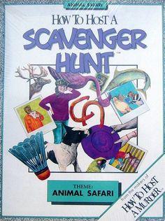 How to Host a Scavenger Hunt Theme: Animal Safari Decipher http://www.amazon.com/dp/B0014TXKGW/ref=cm_sw_r_pi_dp_15Dhvb0EKKN6Y