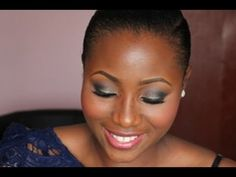TUTORIAL - SHIMMERY SMOKEY EYE AND PINK LIPS