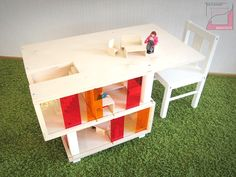Handmade Dollhouse – Ulyanov Architects – Play Tables for Kids   Small for Big