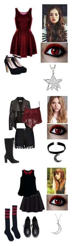 """""""~Vampires~"""" by kawiwi on Polyvore featuring Watson's, Jools by Jenny Brown, women's clothing, women's fashion, women, female, woman, misses, juniors and Chloé"""