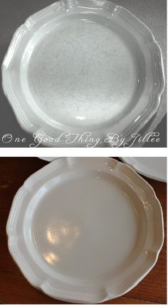 How to Make Your Scratched Dishes Look Like New Again!