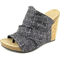 Coconuts By Matisse Tower Women US 6 Black Wedge Heel * You can get additional details at the image link.