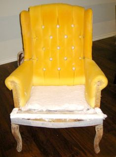 hints for recovering a wingback chair (4)