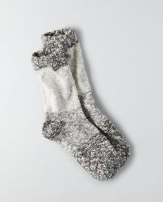 AEO Crew Socks , Black | American Eagle Outfitters