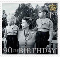 Stamp showing HM The Queen with Princess Anne and Prince Charles in © Lisa Sheridan/Studio Lisa/Getty Images Hm The Queen, Her Majesty The Queen, Uk Stamps, Postage Stamps, Santa Lucia, Westminster, Queen 90th Birthday, Elisabeth Ii, Queen Elizabeth