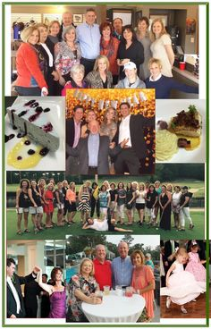 2015 Member Events collage. Hoover Country Club