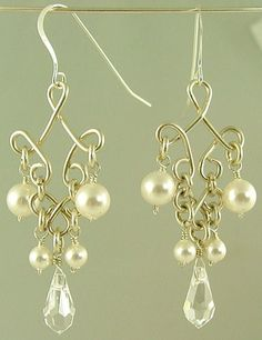 Handmade Custom Gemstone, Swarovski, Pearl Jewelry - Kiwi Jewels