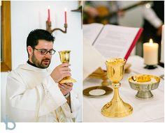 Catholic wedding in Paros