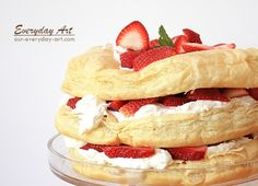 Everyday Art: Strawberry Puff Pastry