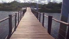 BRIDGE OVER QUIET WATER - Sauípe-Bahia-Brasil - 03-04-2015 - HD