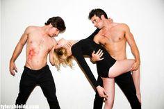 Tyler Shields shoots Revenge cast