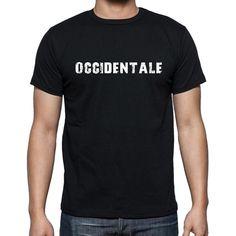 occidentale, Men's Short Sleeve Rounded Neck T-shirt 00017
