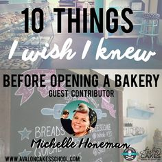 Great article & advice: 10 Things I Wish I Knew Before Opening a Bakery By Guest Contributor Michelle Honeman. Click through to read more! Home Bakery Business, Baking Business, Catering Business, Cake Business, Business Tips, Business Logo, Business Proposal, Business Quotes, Business Planning