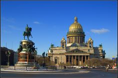Russia, SPb. Saint Isaac's Cathedral