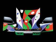 BMW Art Cars from Bucket & Spades Blog