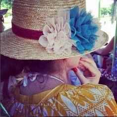 Sombrero colección Canotier de @tocadoschic Photo And Video, Hats, Boater, Fascinators, Sombreros, Hat, Hipster Hat