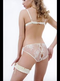 Sonata Classic Collection - Aida - Lace Knicker #bridallingere #bridal #lingere #honeymoon #boudoir