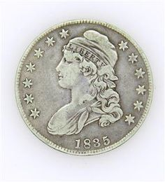 1835 Capped Bust Half Dollar 50 Cent US Coin Available @ hamptonauction.com at the Fine Jewelry Watches Coins and Collectibles Auction on January 26, 2015! Come preview our catalog!