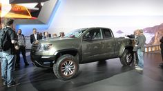 As much as we like the idea of crushing field and stream beneath us in a surplus Abrams tank, nimbleness can pay off when you leave pavement. So we're glad to see Chevrolet's new Colorado ...