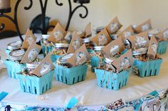 "Photo 1 of 32: western theme / Baby Shower/Sip & See ""Western Turquoise Baby Shower"" 