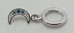 New & Authentic Endless Sky Blue Moon Shine Drop Sterling Silver Charm  #Endless now available at Keswick Jewelers in Arlington Heights, IL 60005 P: 847.394.9365