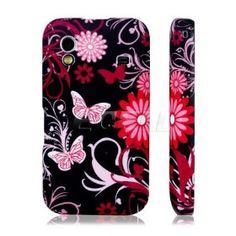 e_cell - Black Butterfly Silicone Gel Case for Samsung Galaxy Ace Laptop Camera, Galaxy Ace, Ds Lite, Silicone Gel, Of Brand, Protective Cases, Ipod, Samsung Galaxy, Butterfly