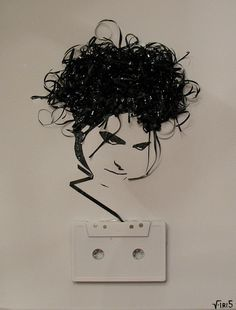 Ghost in the Machine: Robert Smith by iri5, via Flickr